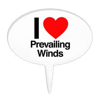 i love prevailing winds cake pick