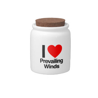 i love prevailing winds candy jars