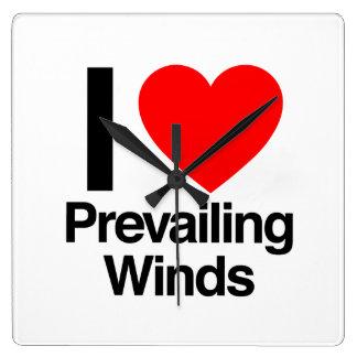 i love prevailing winds wallclocks