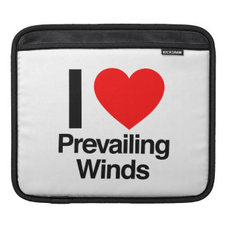 i love prevailing winds iPad sleeves