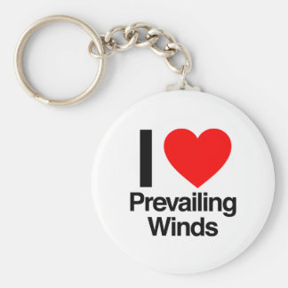 i love prevailing winds key chains