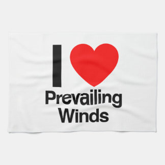 i love prevailing winds hand towels