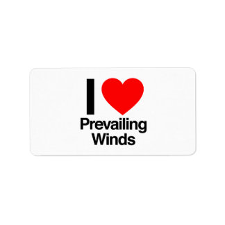 i love prevailing winds labels