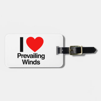 i love prevailing winds travel bag tag