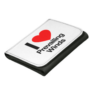 i love prevailing winds trifold wallet