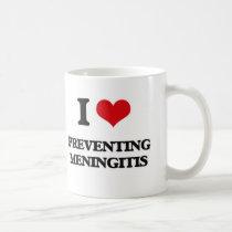 I Love Preventing Meningitis Coffee Mug