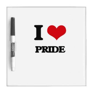 I Love Pride Dry Erase Board
