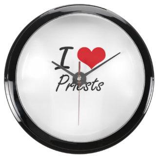 I love Priests Aquavista Clock