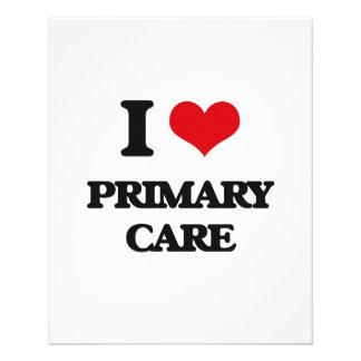 "I Love Primary Care 4.5"" X 5.6"" Flyer"