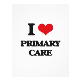"I Love Primary Care 8.5"" X 11"" Flyer"