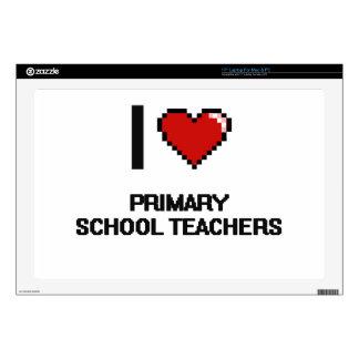 I love Primary School Teachers Laptop Skin