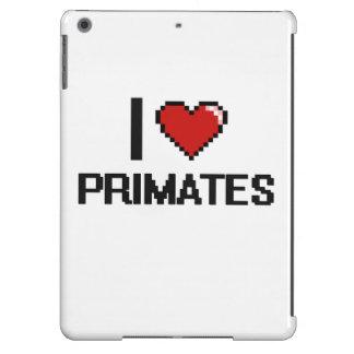 I love Primates Digital Design iPad Air Cases