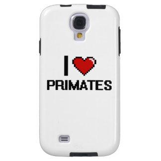I love Primates Digital Design Galaxy S4 Case