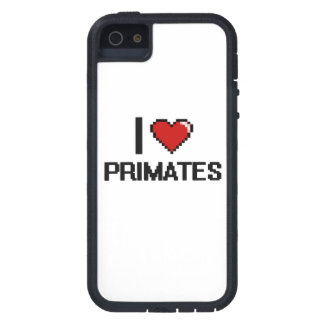 I love Primates Digital Design Cover For iPhone 5