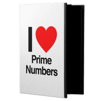 i love prime numbers cover for iPad air