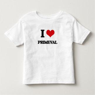 I Love Primeval Tshirts