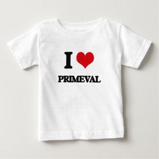 I Love Primeval Shirts