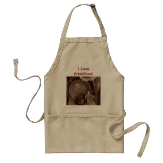 I Love Primitives! Apron