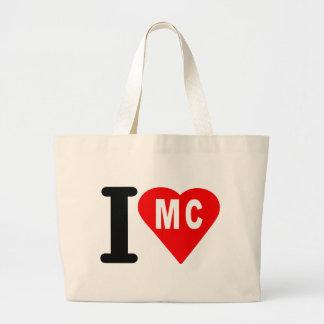 i_love_Princ-de-Monaco.png Large Tote Bag
