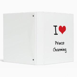 I love Prince Charming Vinyl Binder