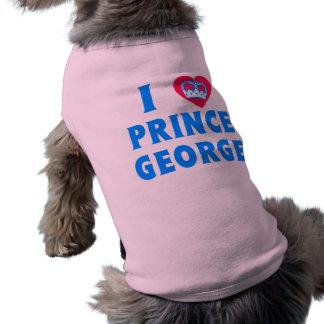 I Love Prince George I Heart Prince George Dog Tee Shirt