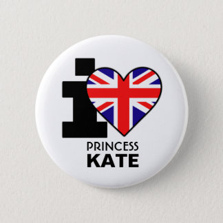 I Love Princess Kate Button
