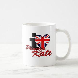 I Love Princess Kate Classic White Coffee Mug