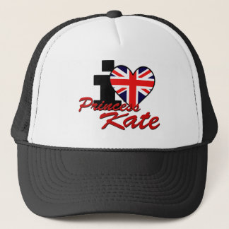 I Love Princess Kate Trucker Hat