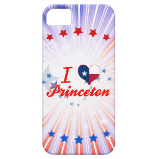I Love Princeton, Texas iPhone 5 Case