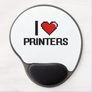 I love Printers Gel Mouse Pad