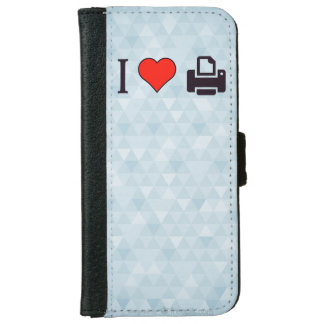 I Love Printing iPhone 6/6s Wallet Case