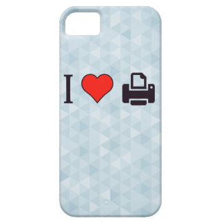 I Love Printing iPhone SE/5/5s Case