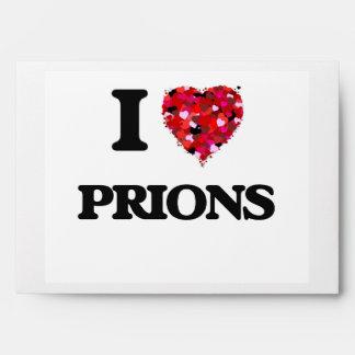 I love Prions Envelopes