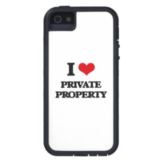 I Love Private Property iPhone 5 Cases