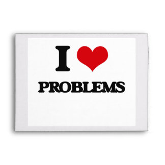I Love Problems Envelope