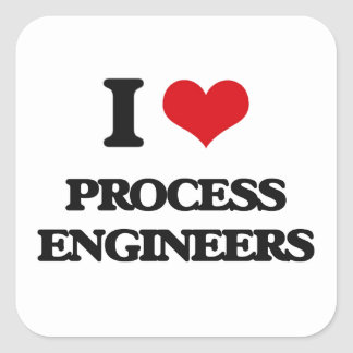 I love Process Engineers Stickers