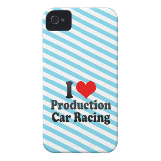 I love Production Car Racing Case-Mate iPhone 4 Case