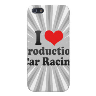 I love Production Car Racing iPhone 5 Cover