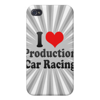 I love Production Car Racing iPhone 4 Cover