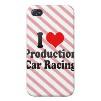 I love Production Car Racing Case For iPhone 4