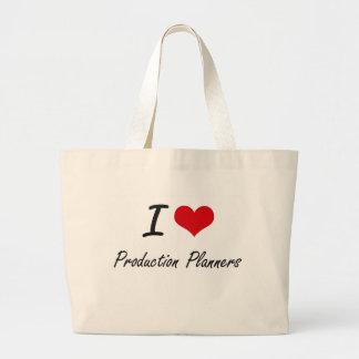 I love Production Planners Jumbo Tote Bag