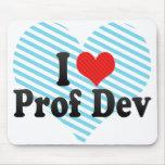 I Love Prof Dev Mousepad
