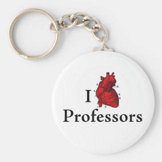 I love professors key chain