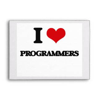 I love Programmers Envelopes