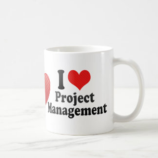 I Love Project Management Classic White Coffee Mug
