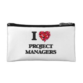 I love Project Managers Cosmetic Bag