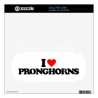 I LOVE PRONGHORNS SONY PSP 3000 SKIN