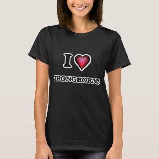 I Love Pronghorns T-Shirt