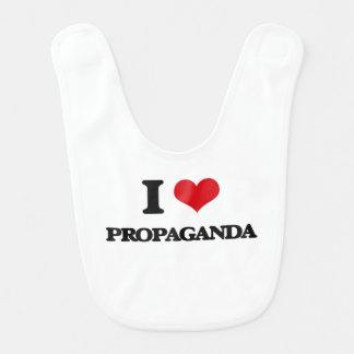 I Love Propaganda Baby Bib