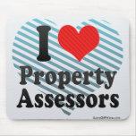 I Love Property Assessors Mouse Pad